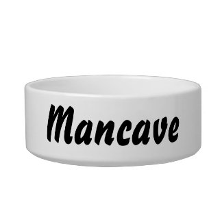 It's a mancave thing! bowl
