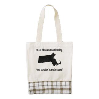 It's A Massachusetts Thing Zazzle HEART Tote Bag