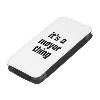 its a mayor thing iPhone 5 pouch