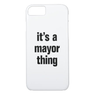 its a mayor thing iPhone 7 case