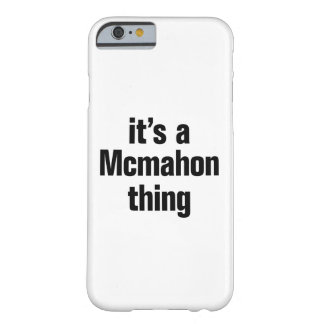 its a mcmahon thing barely there iPhone 6 case