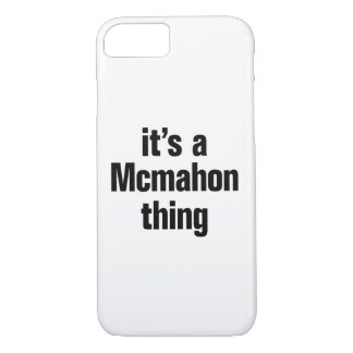 its a mcmahon thing iPhone 7 case