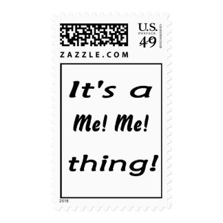 It's a Me! Me! thing Postage Stamp