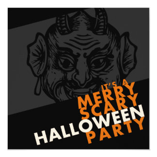 It's a Merry Scary Halloween Party! Card