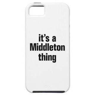 its a middleton thing iPhone 5 cases