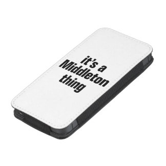 its a middleton thing iPhone 5 pouch