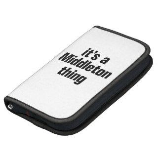 its a middleton thing organizer
