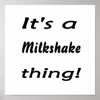It's a milkshake thing! poster