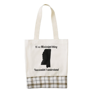 It's A Mississippi Thing Zazzle HEART Tote Bag
