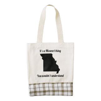 It's A Missouri Thing Zazzle HEART Tote Bag