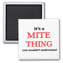 It's a Mite thing, you wouldn't understand Magnet