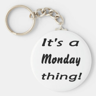 It's a Monday thing! Keychains
