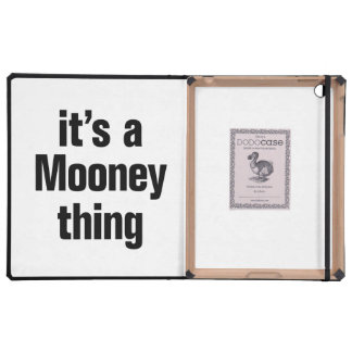 its a mooney thing cover for iPad
