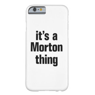 its a morton thing barely there iPhone 6 case