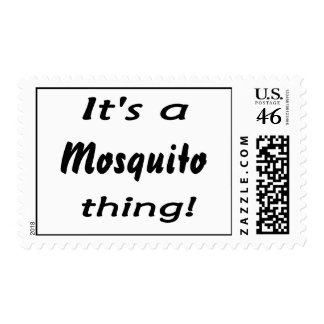 It's a mosquito thing! postage stamps