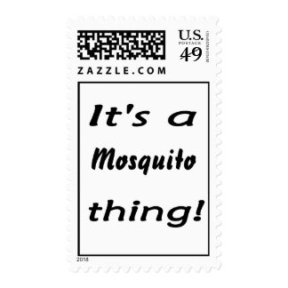 It's a mosquito thing! postage