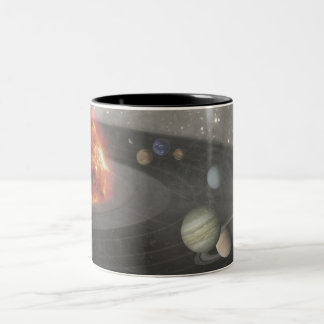It's a Musical Universe Two-Tone Coffee Mug