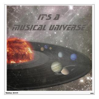 It's a Musical Universe Wall Sticker