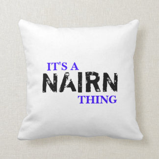 IT'S A NAIRN THING! THROW PILLOW