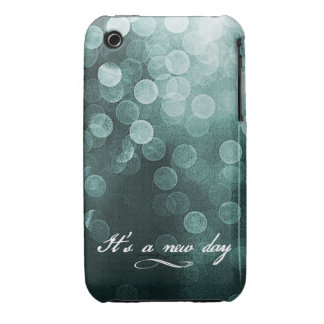 It's a New Day Bokeh Design iPhone 3 Case
