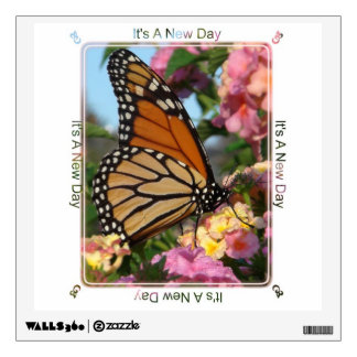 It's a New Day Butterfly Wall Decal