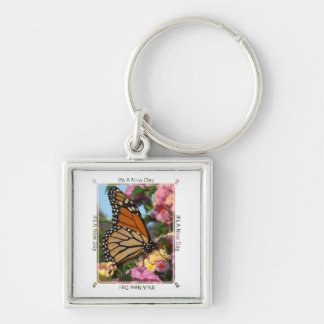 It's A New Day (Monarch Butterfly) Keychain