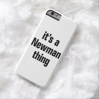its a newman thing barely there iPhone 6 case