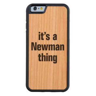 its a newman thing carved® cherry iPhone 6 bumper case