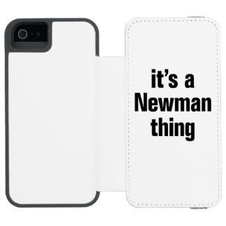 its a newman thing incipio watson™ iPhone 5 wallet case