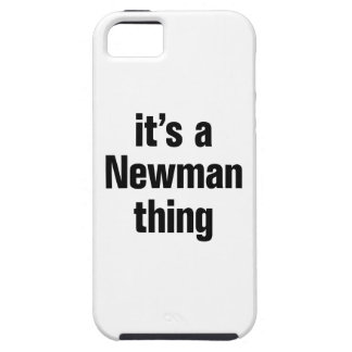 its a newman thing iPhone 5 covers
