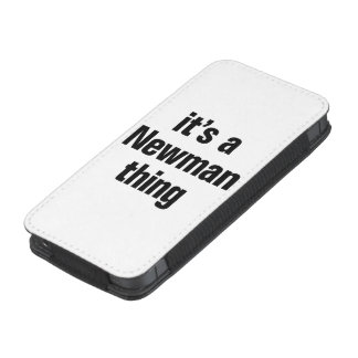 its a newman thing iPhone 5 pouch