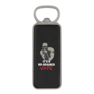 It's a NO-BRAINER Vape Black Magnetic Bottle Opener