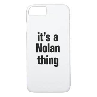 its a nolan thing iPhone 8/7 case