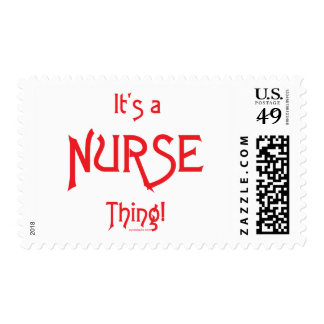 It's a Nurse Thing! Stamp
