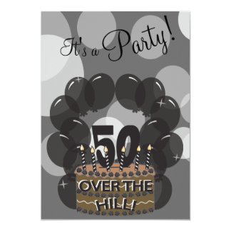It's A Party | DIY Name | 50th Birthday Card