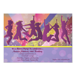 Purple dinner party invitations announcements zazzle it39s a party invitation stopboris Image collections