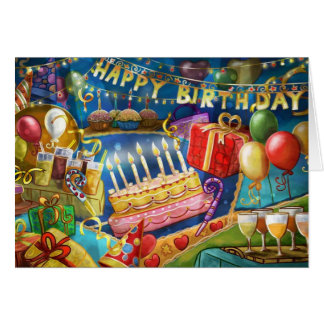 It's a Party on a Card (Birthday Card)