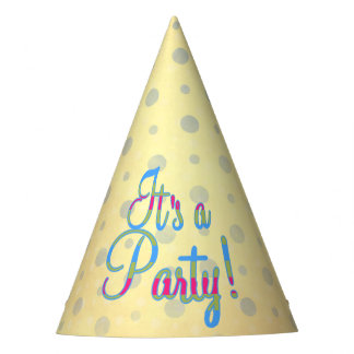 It's a Party! Party Hats for a Girl's Party