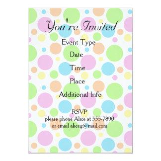 It's a Party Polka Dot Pattern Card