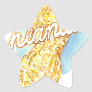 It's a peanut star sticker