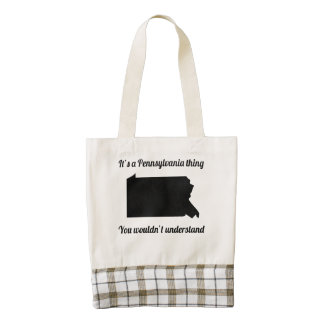 It's A Pennsylvania Thing Zazzle HEART Tote Bag