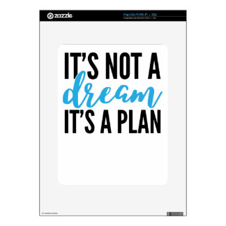 its+a+plan (1) decal for iPad