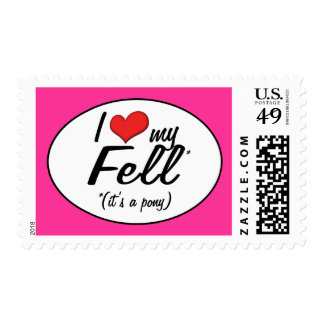 It's a Pony! I Love My Fell Stamp