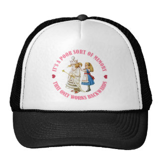 IT'S A POOR MEMORY THAT ONLY WORKS BACKWARDS TRUCKER HAT
