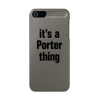 its a porter thing incipio feather® shine iPhone 5 case
