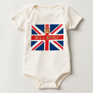 It's a Prince! Baby Bodysuit