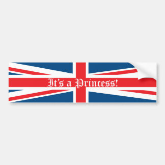 It's a Princess! Bumper Sticker