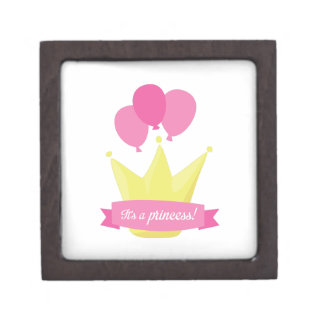 Its A Princess Premium Keepsake Box