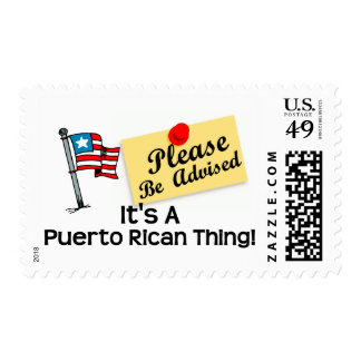 Its a puerto rican thing 1 postage
