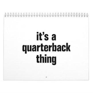 its a quarterback thing calendar